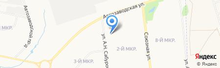 Покров на карте Ижевска