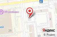 Схема проезда до компании Кич в Ижевске