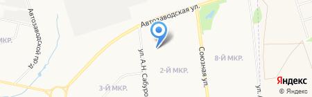 Секонд-хэнд на карте Ижевска