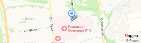 Ижевская похоронная служба на карте Ижевска