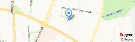 Мидас на карте Ижевска