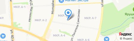 BG на карте Ижевска