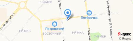 Саша на карте Ижевска