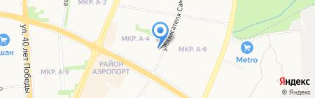 Солярис на карте Ижевска