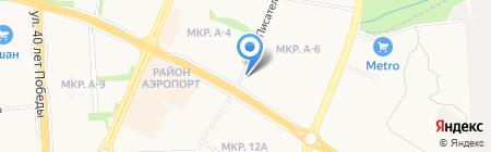 Художник на карте Ижевска