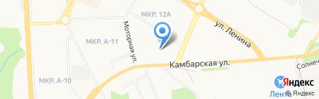 Бурподшипник на карте Ижевска