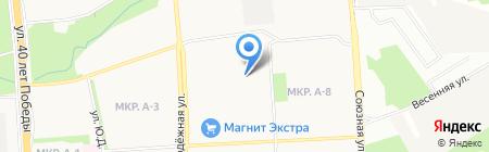 Общежитие Ижевский кооперативный техникум экономики на карте Ижевска