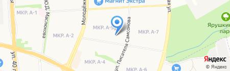 Золотое яблоко на карте Ижевска