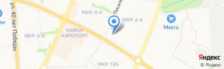АвтоСпасатели на карте Ижевска