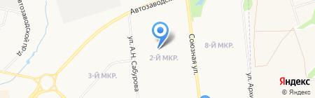 Детский сад №234 на карте Ижевска