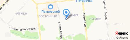 Участковый пункт полиции №25 на карте Ижевска