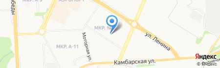ДЮСШ №4 на карте Ижевска