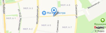 Avangard на карте Ижевска