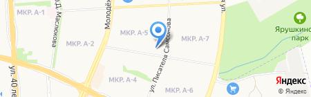 Инвест на карте Ижевска