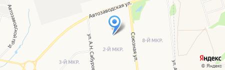 Удмуртский республиканский центр по гидрометеорологии и мониторингу окружающей среды на карте Ижевска