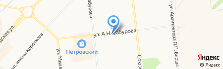 ИжЮст на карте Ижевска