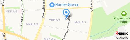 Средняя общеобразовательная школа №78 на карте Ижевска