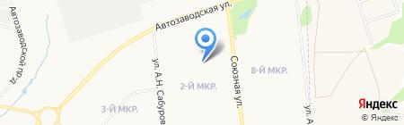 Плюшкин на карте Ижевска