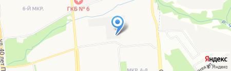 Район электрических сетей №3 на карте Ижевска