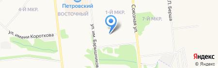 Детский сад №259 на карте Ижевска