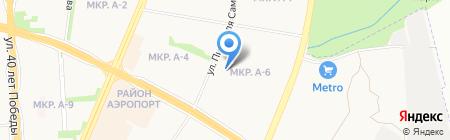 Средняя общеобразовательная школа №54 с углубленным изучением отдельных предметов на карте Ижевска