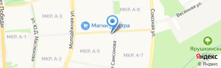 Наталья на карте Ижевска