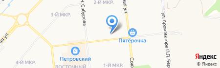 Медико-санитарная часть №5 на карте Ижевска