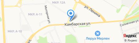 Авторемонтная мастерская на карте Ижевска