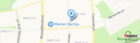 Лит на карте Ижевска