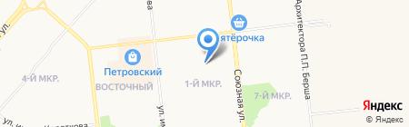 Кристина на карте Ижевска