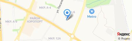 Детский сад №262 на карте Ижевска