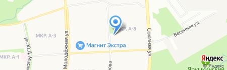 Парк Сервис на карте Ижевска