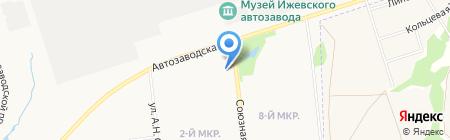 Гавань на карте Ижевска