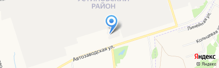 Объединенная Автомобильная Группа на карте Ижевска