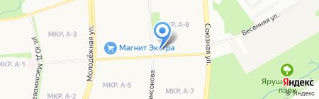 Маленький Гений на карте Ижевска
