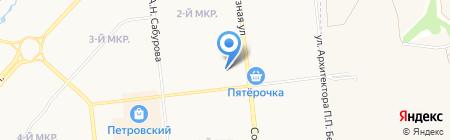 Клен-Н на карте Ижевска