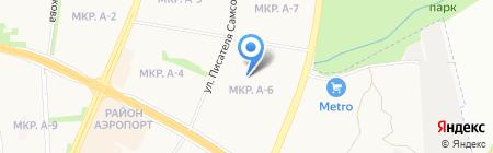 Союзная 27 на карте Ижевска