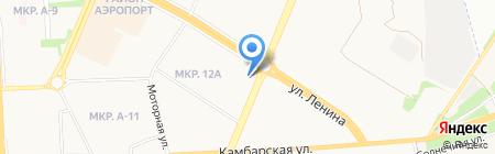 Восточная околица на карте Ижевска