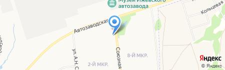 Капитошка на карте Ижевска