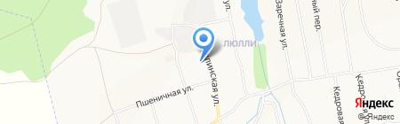 Ижевское РайПО на карте Ижевска