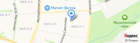 Специальная коррекционная общеобразовательная школа №101 VI вида для обучающихся на карте Ижевска