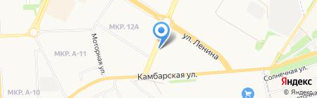 Авторемонтная мастерская на Ленина на карте Ижевска