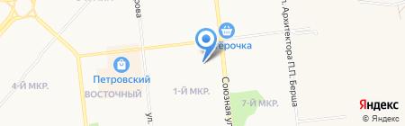 Комплексный центр социального обслуживания населения №5 Устиновского района на карте Ижевска