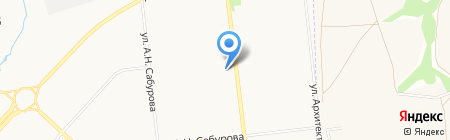 Участковый пункт полиции №27 на карте Ижевска