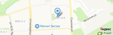 Средняя общеобразовательная школа №81 на карте Ижевска