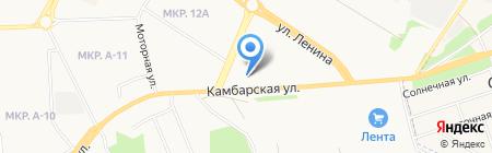 Тэнко на карте Ижевска