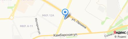 Izhtruck на карте Ижевска