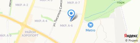 Банкомат Западно-Уральский банк ОАО Сбербанк России на карте Ижевска
