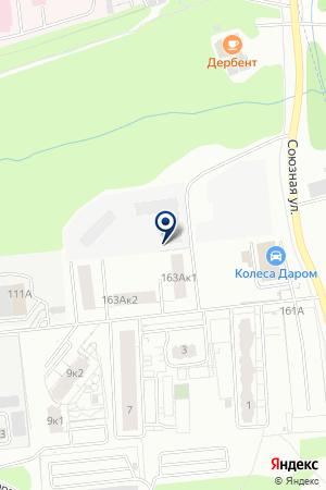 АВТОМАГАЗИН ГАРАНТ-АВТО на карте Ижевска