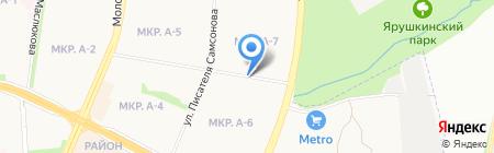 Серебряные ключи киоск по продаже питьевой воды на карте Ижевска